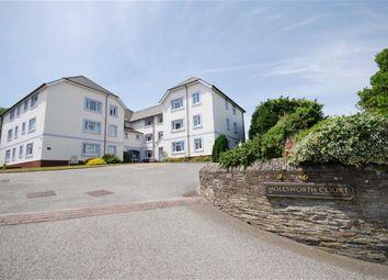 Thumbnail 1 bed flat for sale in Molesworth Court, Wadebridge, Cornwall