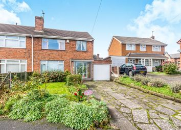Thumbnail 3 bed semi-detached house for sale in Marshall Road, Willenhall