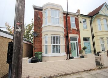 Thumbnail 4 bed end terrace house for sale in Wadham Road, Portsmouth