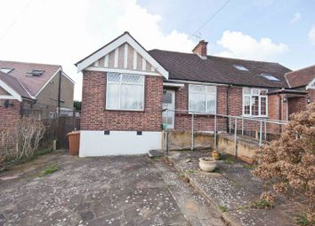 Thumbnail 2 bed semi-detached bungalow for sale in Lincoln Close, North Harrow, Middlesex