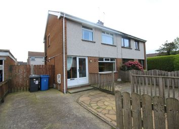 Thumbnail 3 bed semi-detached house for sale in Loverock Drive, Bangor