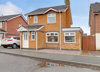 Thumbnail 3 bed detached house for sale in Kestrel Drive, Crewe