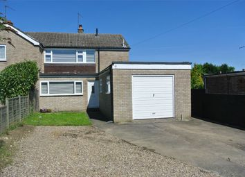 Thumbnail 3 bed semi-detached house for sale in Ostler Drive, Bourne, Lincolnshire