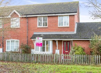 Thumbnail 3 bed semi-detached house for sale in Gurdon Road, Grundisburgh, Woodbridge