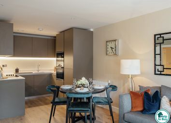 Thumbnail 1 bed flat for sale in Pavilion Square, Royal Arsenal Riverside, Woolwich, London