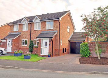 Thumbnail 3 bed semi-detached house for sale in Coltman Close, Boley Park, Lichfield
