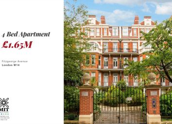 Thumbnail 4 bed flat for sale in Fitzgeorge Avenue, London