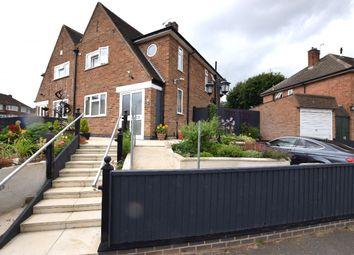 Thumbnail 3 bedroom semi-detached house for sale in Woodgate Drive, Birstall, Leicester