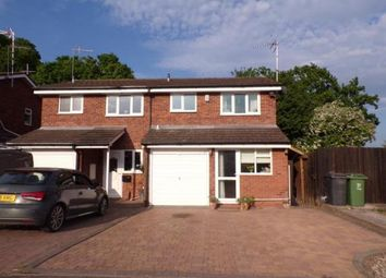 Thumbnail 2 bed semi-detached house for sale in Tenbury Close, Redditch, Worcestershire