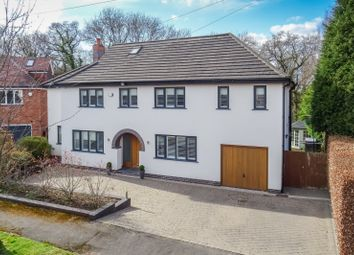 Thumbnail 5 bed detached house for sale in Vale Road, Wilmslow