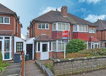 Thumbnail 3 bed semi-detached house for sale in Leach Green Lane, Rednal, Birmingham