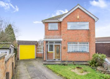 Thumbnail 3 bed detached house for sale in Hamilford Close, Scraptoft, Leicester