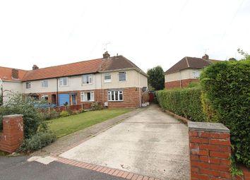 Thumbnail 3 bed end terrace house for sale in Knott End, Langold, Worksop, Nottinghamshire