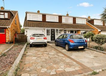 Thumbnail 4 bed semi-detached house for sale in Highcliffe Close, Wickford
