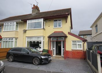 Thumbnail 3 bed semi-detached house for sale in Malvern Grove, Tranmere, Birkenhead
