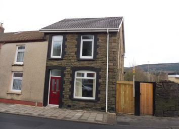 Thumbnail 3 bed end terrace house for sale in Cardiff Road, Aberaman, Aberdare