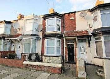 Thumbnail 3 bed terraced house for sale in Wellesley Road, Middlesbrough