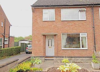 Thumbnail 3 bed semi-detached house for sale in York Avenue, Sandiacre, Nottingham