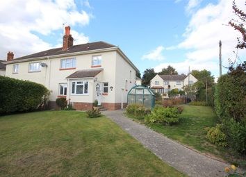 Thumbnail 3 bed semi-detached house for sale in Connaught Crescent, Parkstone, Poole