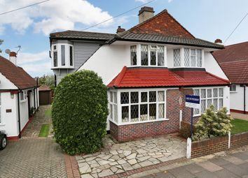 Thumbnail 5 bed semi-detached house for sale in Crombie Road, Sidcup, Kent