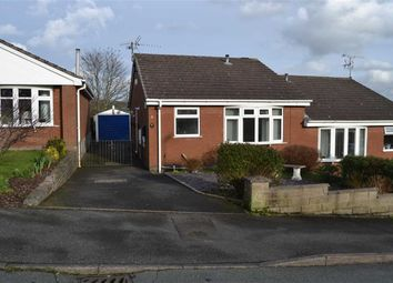 Thumbnail 2 bed semi-detached bungalow for sale in Botham Drive, Cheddleton, Leek