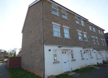 Thumbnail 3 bedroom town house for sale in Manning Road, Bury St. Edmunds