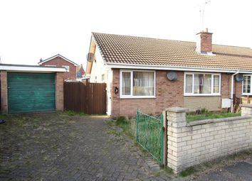 Thumbnail 2 bedroom bungalow for sale in Saxon Way, Harworth, Doncaster