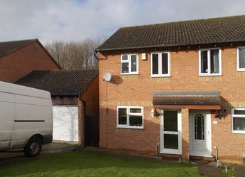 Thumbnail 2 bed semi-detached house for sale in Pine Ridge, Northampton