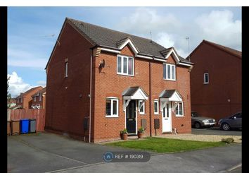 Thumbnail 2 bedroom semi-detached house to rent in Devon Way, Stoke On Trent
