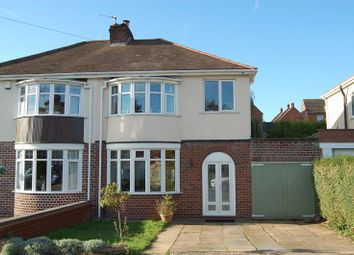 Thumbnail 3 bed semi-detached house for sale in Burland Avenue, Claregate, Wolverhampton