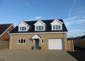 Thumbnail 4 bedroom detached house for sale in Mill Lane, Bradwell, Great Yarmouth