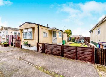 Thumbnail 2 bed mobile/park home for sale in Jacks Hill Park, Jacks Hill, Graveley, Hithcin