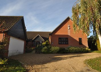 Thumbnail 3 bed detached bungalow for sale in Homechurch, Baylham, Ipswich