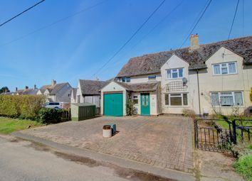 Thumbnail 4 bed semi-detached house for sale in Mere Road, Finmere, Buckingham