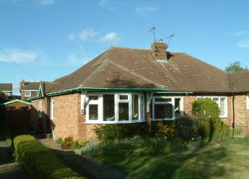 Thumbnail 2 bed semi-detached bungalow to rent in Chapel Close, Toddington, Dunstable