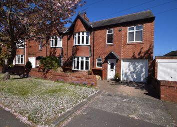Thumbnail 4 bed semi-detached house for sale in Hartford Road East, Bedlington
