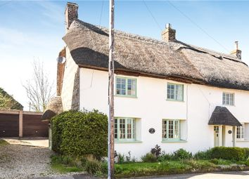 Thumbnail 3 bed semi-detached house for sale in Higher Street, Okeford Fitzpaine, Blandford Forum