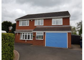 Thumbnail 4 bed detached house for sale in Main Road, Tamworth