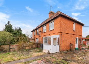 Thumbnail 2 bed semi-detached house for sale in Longcroft Avenue, Devizes