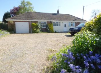 Thumbnail 2 bed detached bungalow for sale in Mill Road, Stoke Holy Cross