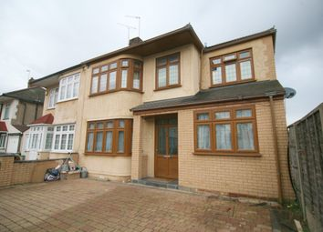 Thumbnail 4 bed semi-detached house for sale in Ainsley Avenue, Romford, London