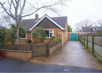 Thumbnail 3 bed detached bungalow for sale in Haglane Copse, Lymington