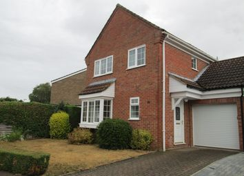 Thumbnail 3 bed detached house to rent in The Paddocks, Potton
