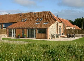 Thumbnail 3 bedroom barn conversion for sale in Holt Road, Field Dalling, Holt