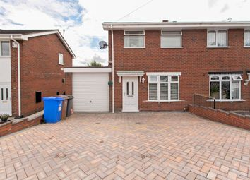 Thumbnail 3 bed semi-detached house for sale in Eros Crescent, Birches Head, Stoke-On-Trent