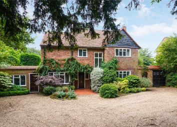 Thumbnail 4 bedroom detached house for sale in Byfleet Road, Cobham, Surrey