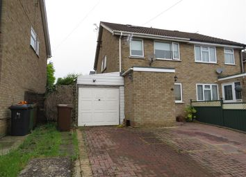Thumbnail 3 bed semi-detached house for sale in Wantage Road, Irchester, Wellingborough