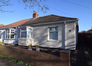 Thumbnail 2 bed semi-detached bungalow for sale in West Avenue, South Shields