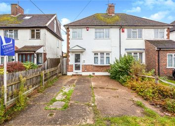 Thumbnail 3 bed semi-detached house for sale in North Road, Crawley, West Sussex
