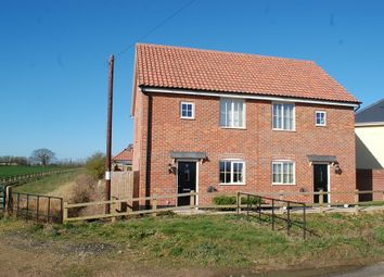 Thumbnail 2 bed semi-detached house for sale in Simpson Way, Barrow, Bury St. Edmunds